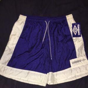 Umbro Mens XL C. B. Ball short shorts NWT
